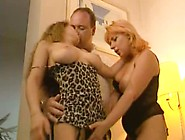Daddy,  Mom And Daughter Have Sex Together ! ...