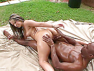 Thick Black Cock Penetrates Nikki's Orgas...