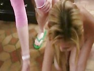 Sorority College Of Nude Humiliation For Peti...