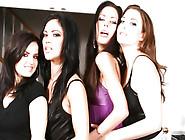 4 Girl Lesbian Orgy - Must See