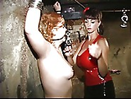 Scared Sub Gets Her Mouth Gagged By Sexy Domi...