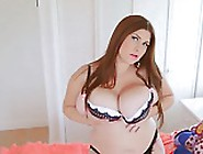 Beauty Chubby Girl With Big Natural Boobs Pla...