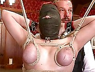 Ugly Bitch In The Hood Gets Tied Up And Eats ...