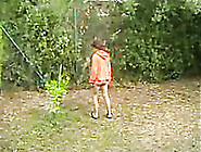 Neighbor's Mature Drunk Wife Flashes Her ...