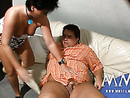 Chubby Black Haired Milf Pleases Her Fat Ugly...
