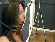 Whore Milf Face Fucked With Ring Gag
