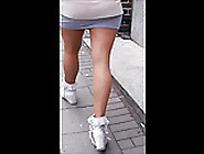 #8 Woman With Hot Legs In Mini Skirt And Pant...