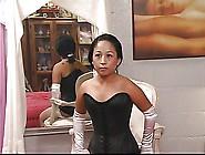Cute Young Asian Slave Girl In Corset Has Nip...