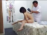 Athletic Japanese Caught On A Massage Room Hi...