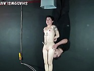 Needle Torture For Suspended Asian