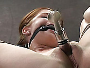 Submissive Girl With Pale Skin Gets Her Boobs...