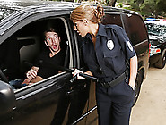 Latina Officer Caught On A Guy Jerking Off In...