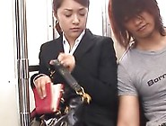Mihiro Is Taking The Subway Home From College