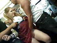 Blonde Cheergirl Groped And Used On A Bus