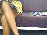 Sex Movie On The Train Upskirt Down Blouse An...