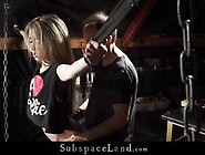 Kinky Blonde Teen Punished Pain Submissive Fu...