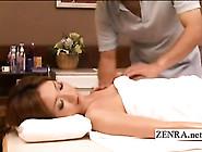 Topless Tan Oiled Up Japanese Milf Has Erotic...