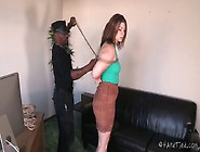 Plump Red Haired Chick Harley Ace Is Punished...