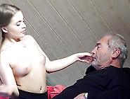 Old Young Porn Fucked Bald Grandpa In Pussy
