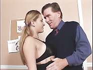 Pigtailed Cutie With Nice Tits Does Anal In T...