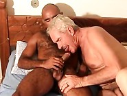 Old Dudes Love Black Cock