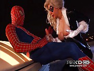 Black Cat Gets Fucked By Spider Man