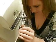 Amateur White Girl In Dress Feeding On Black ...