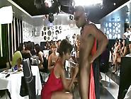 Party With Ebony Babes Masturbating & Enjoyin...