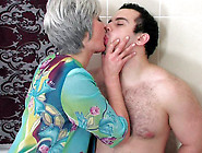 Dominating Milf In Stockings Fucked By Young ...