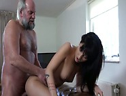 Young Chick Catches 70 Years Old Man Jerking ...