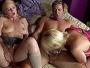 Anita Blue And Raquel Sieb Sucking A Cock On ...