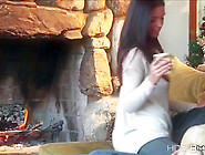 Horny Whitney Gets Her Pussy Pounded With Dud...