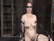 Busty Bella Rossi Blindfolded And Interrogate...