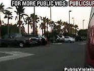 Naked Guy Violates Girl In Parking Lot