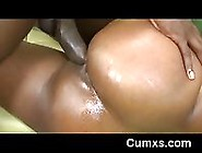 Pink Pussy Displayed From Huge Ass Gets Bange...