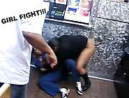Girl Fight - No Panties On