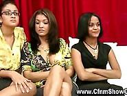 Amateur Femdom Girls Watch Cfnm Guys Jerk Off