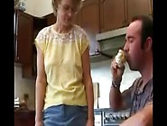 Hot And Ugly Milf And Her Step-Son Kitchen Fu...