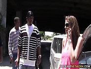 Brooklyn Chase's First Interracial Gangba...