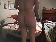 Spying The Chubby Wife Dressing Up