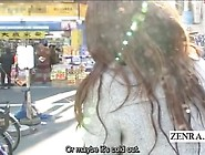 Subtitles Public Extreme Japanese Femdom In D...