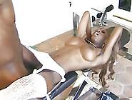 Hot Black Nurse Black Cat Fucked And Showered...