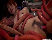 Alien With Tentacles Rapes And Impregnates A ...