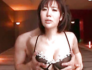Killing And Pretty Japanese Angel With Big Bo...