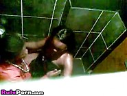 African Couple Fucking In Disco Club Toilet