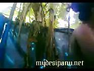 Kerala Mast Village Girl Outdoor Bathing Scen...