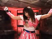 Super Heroine Is Captured And Tied Up To Be T...