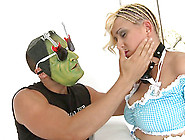 Creepy Guy In Mask Roughly Fucks A Kinky Girl...