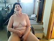 Old Saggy Tittie Butt Slut Enjoys Singing On ...