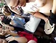 Philippines Public Naked Guys Run
